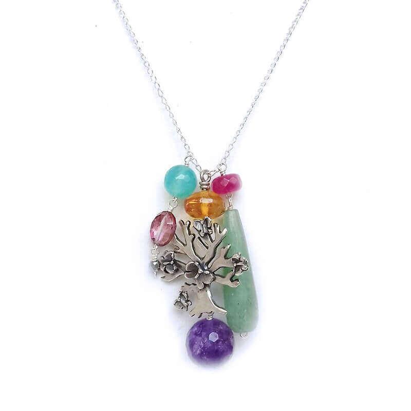 joyas mexicanas gabriela sanchez arbol con mariposas dije