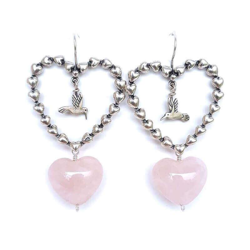 joyas mexicanas gabriela sanchez aretes guia de corazones colibri
