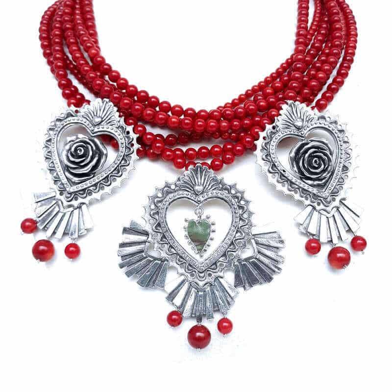 joyas mexicanas gabriela sanchez corazones de