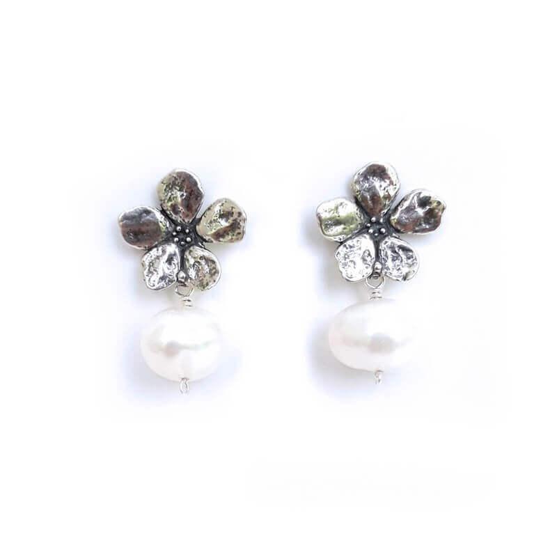 joyas mexicanas gabriela sanchez flor cerezo aretes aretes