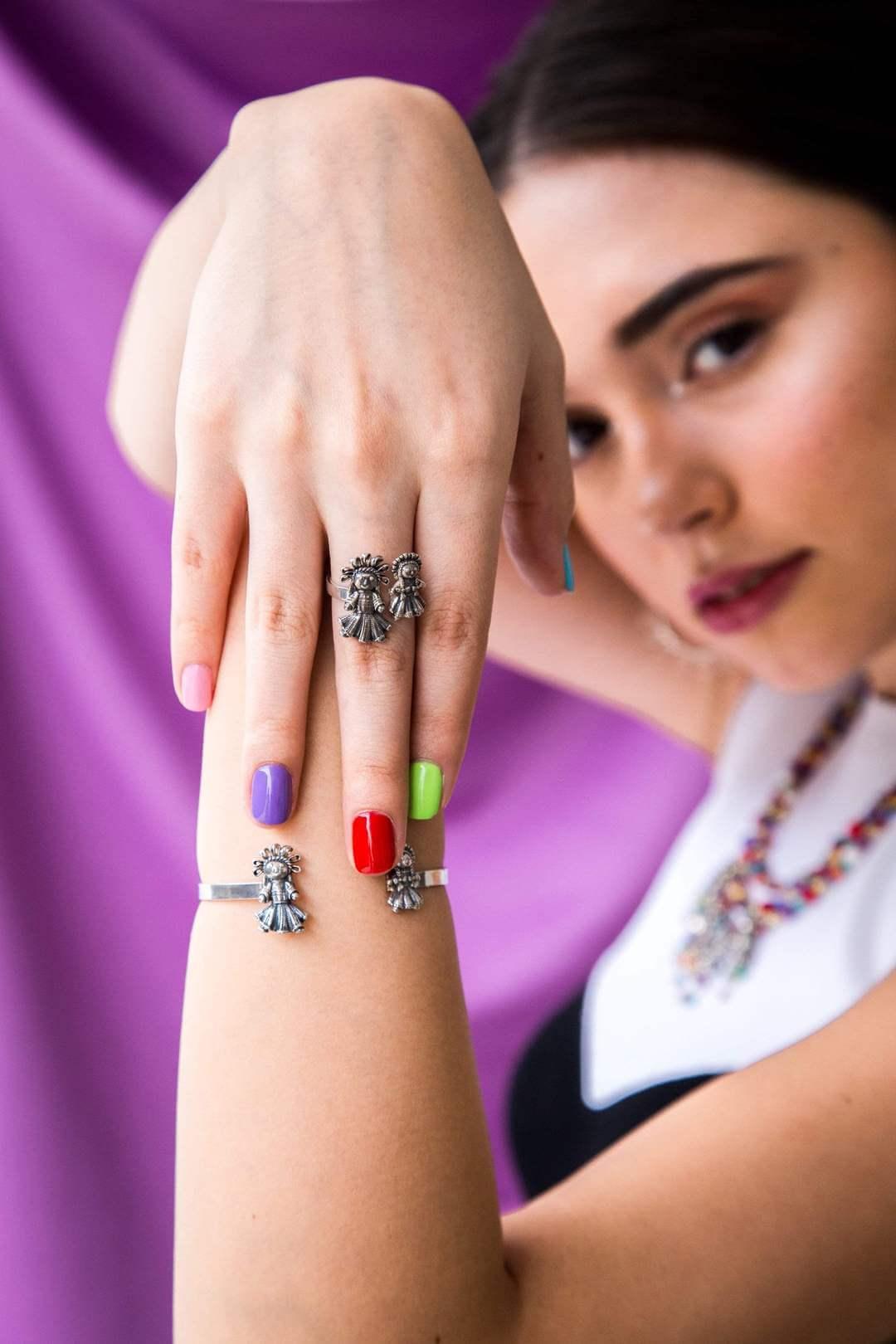 joyas mexicanas gabriela sanchez anillo muneca ch y muneca mini anillo gabriela sanchez
