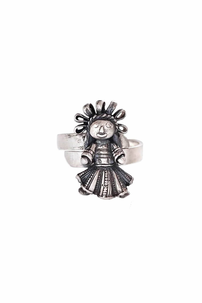 joyas mexicanas gabriela sanchez anillo muneca chica anillo gabriela sanchez