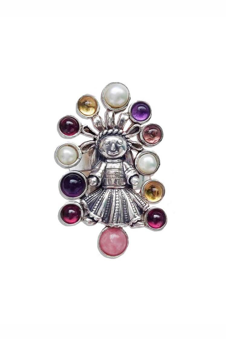 joyas mexicanas gabriela sanchez anillo muneca con listones anillo gabriela sanchez