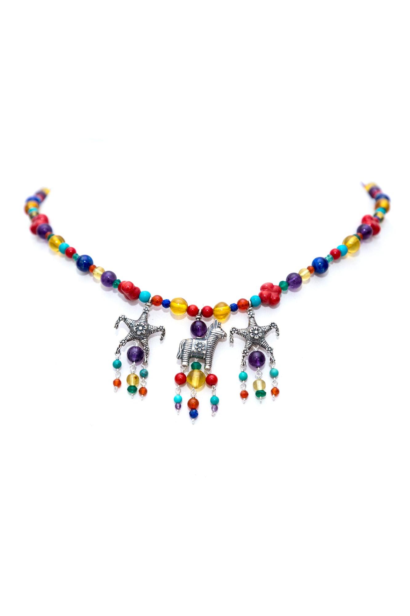 joyas mexicanas gabriela sanchez collar juguetes de confeti