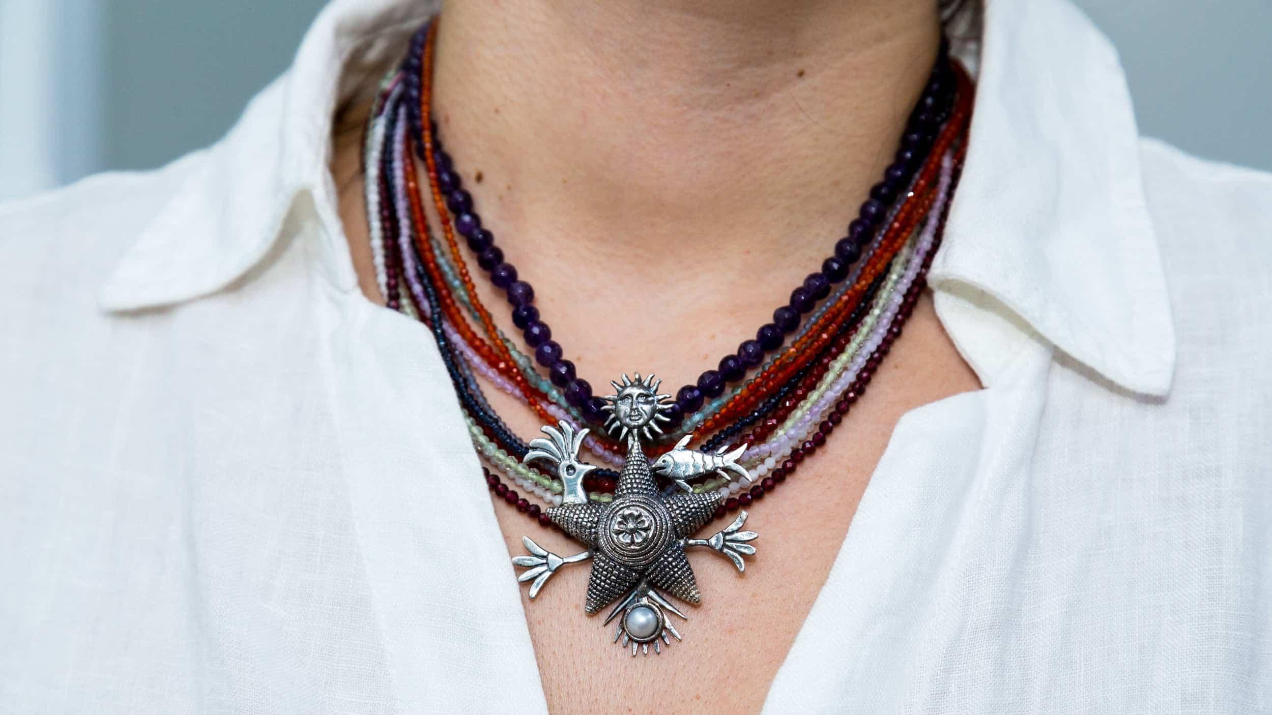 joyas mexicanas gabriela sanchez collar pinata de la vida