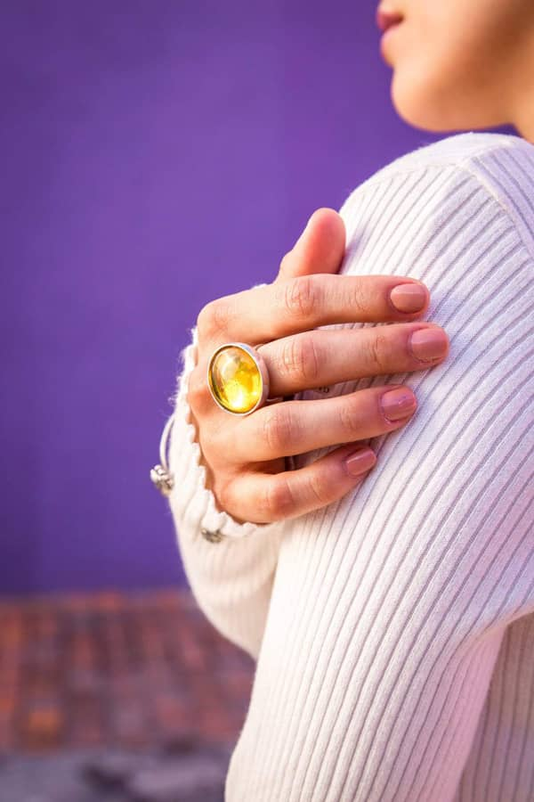 joyas mexicanas gabriela sanchez anillo ambar anillo gabriela sanchez