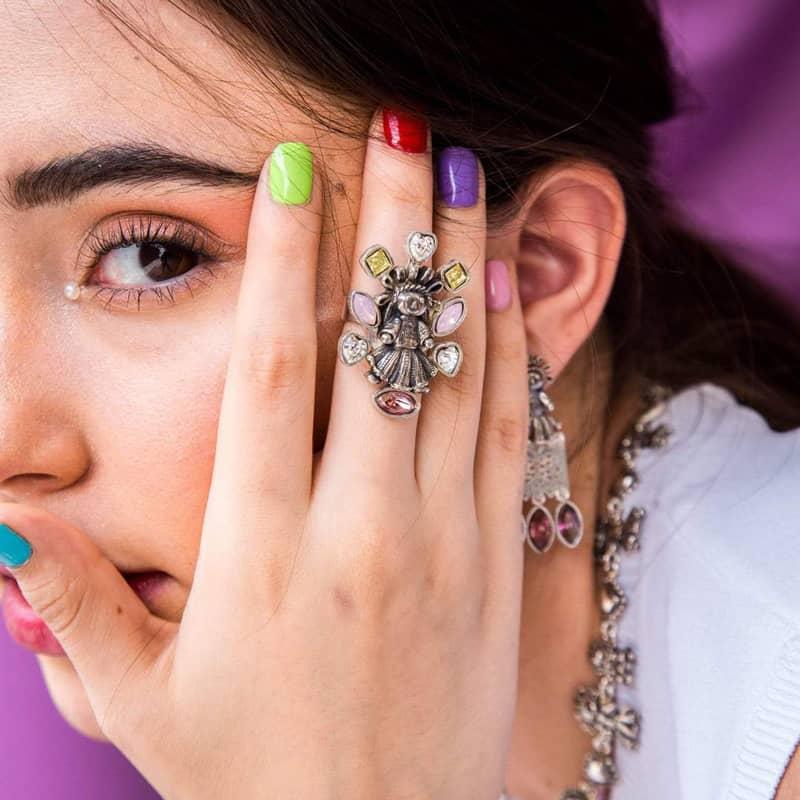 joyas mexicanas gabriela sanchez anillo muneca md con biseles de piedras swarovski anillo gabriela sanchez