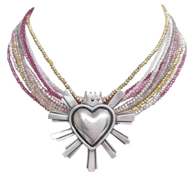 joyas mexicanas gabriela sanchez collar querido mexico brilla collar gabriela sanchez