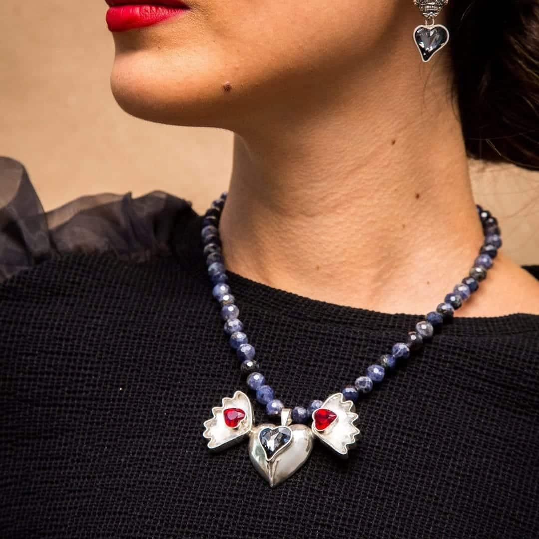 joyas mexicanas gabriela sanchez collar corazon libertad collar gabriela sanchez