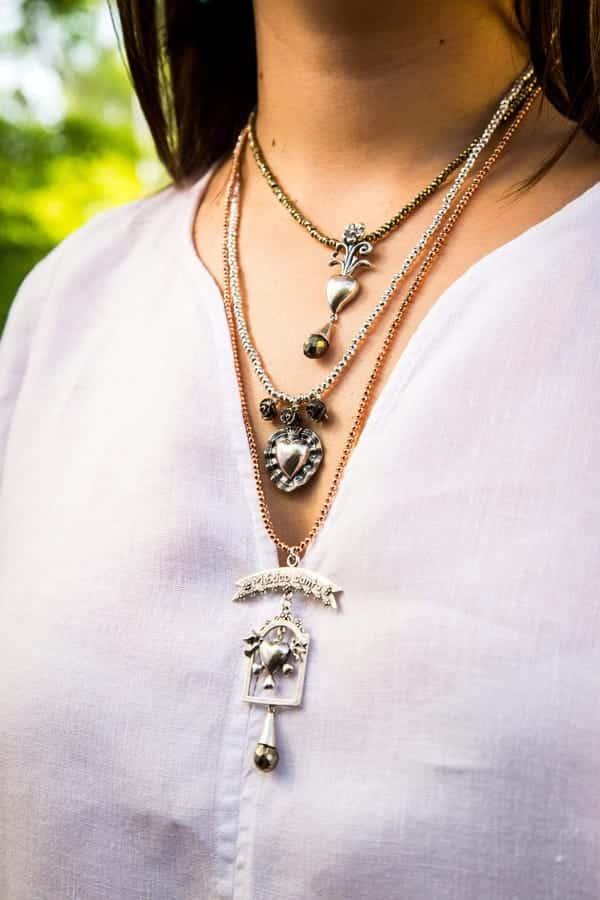 joyas mexicanas gabriela sanchez collar mexico brilla con amor collar gabriela sanchez