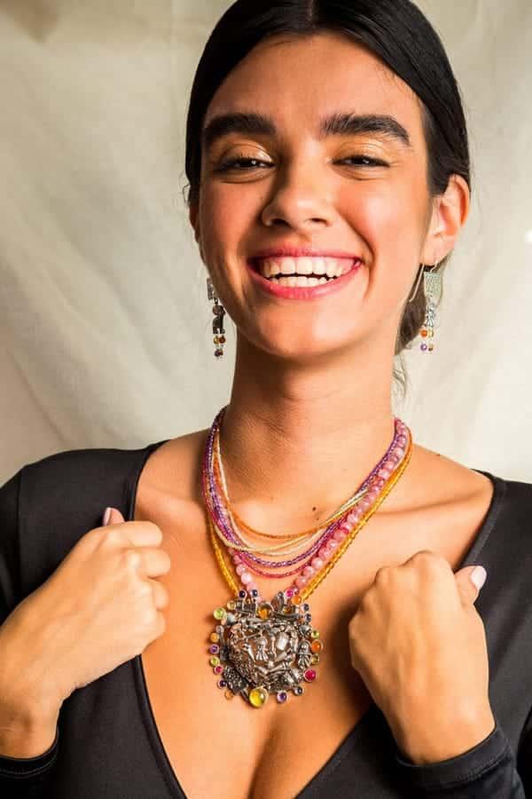 joyas mexicanas gabriela sanchez collar corazon que brinca collar gabriela sanchez