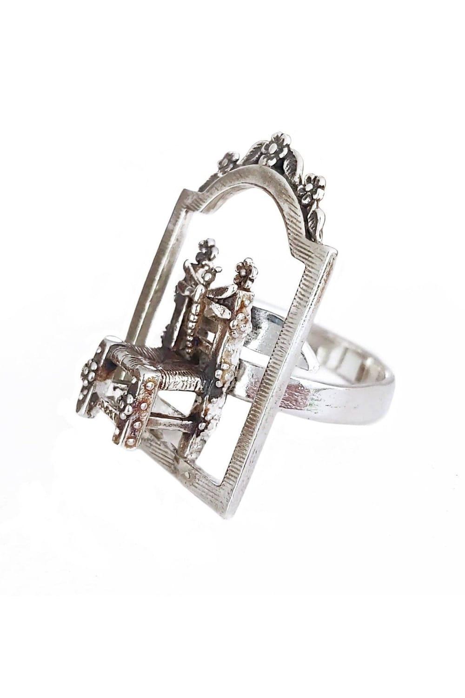 joyas mexicanas gabriela sanchez anillo silla enmarcada anillo gabriela sanchez 28403454443575