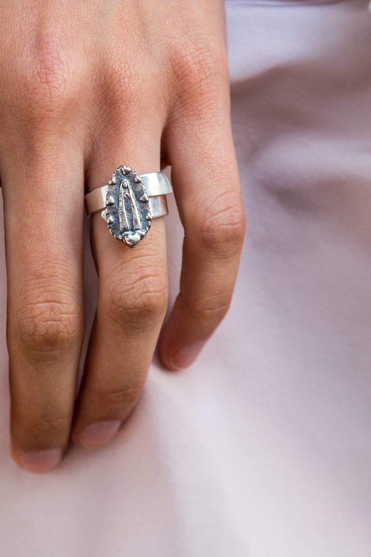 joyas mexicanas gabriela sanchez anillo virgen