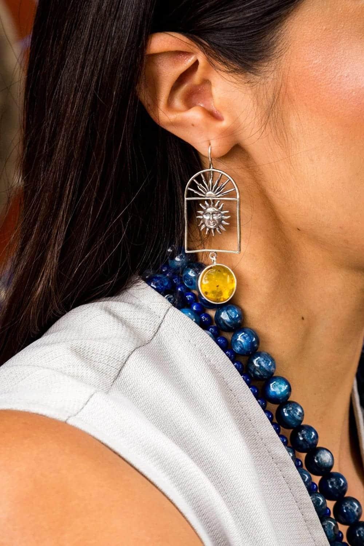 joyas mexicanas gabriela sanchez aretes ventana de sol y luna aretes gabriela sanchez 28403741753399