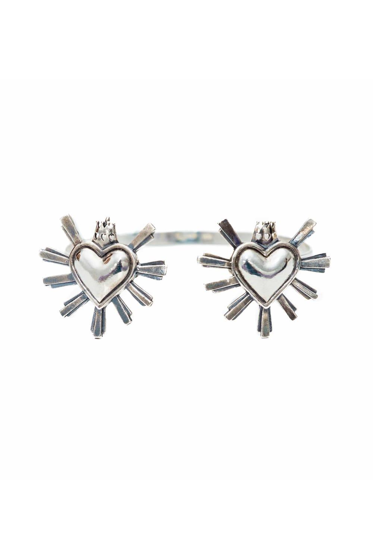 joyas mexicanas gabriela sanchez brazalete dos corazones pulsera gabriela sanchez 28424472199223