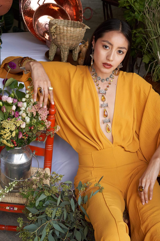 joyas mexicanas gabriela sanchez collar atardecer en el parque collar gabriela sanchez 28403403259959