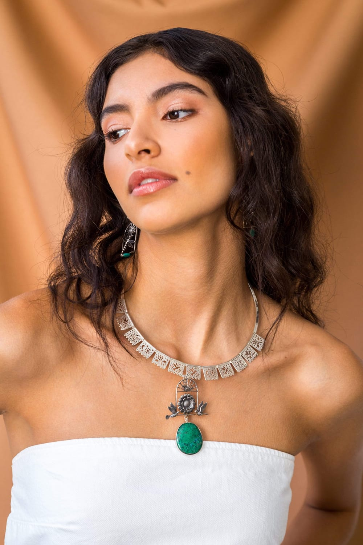 joyas mexicanas gabriela sanchez collar celebracion del agua collar gabriela sanchez 28423447380023