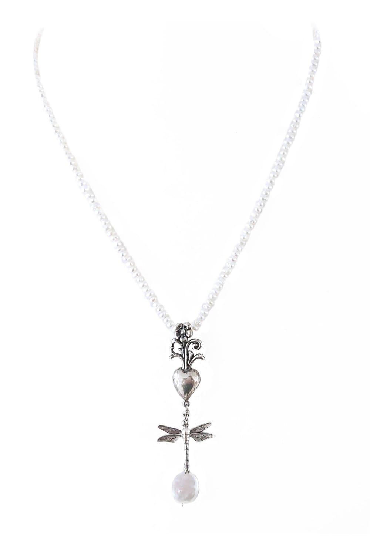 joyas mexicanas gabriela sanchez collar flor y libelula collar gabriela sanchez 28405347156023