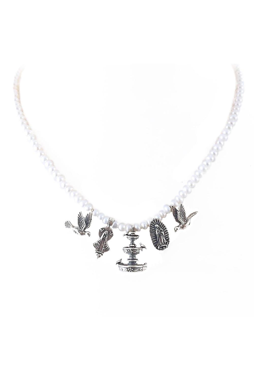 joyas mexicanas gabriela sanchez collar fuentes y virgenes collar gabriela sanchez 28405343748151