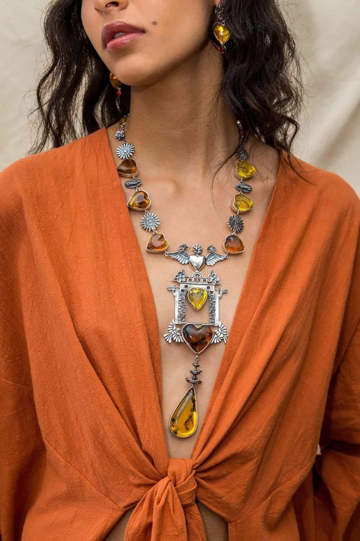joyas mexicanas gabriela sanchez collar puerta de los mensajes collar gabriela sanchez 28423469301815