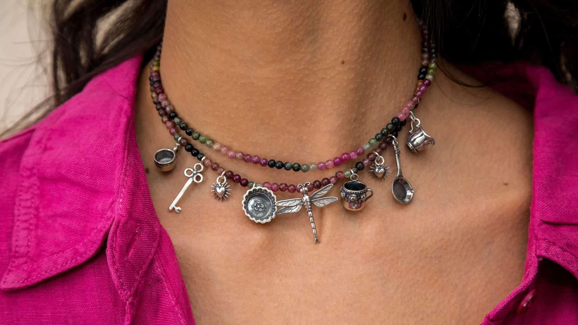 joyas mexicanas gabriela sanchez collar tantos recuerdos collar gabriela sanchez 28423585464375