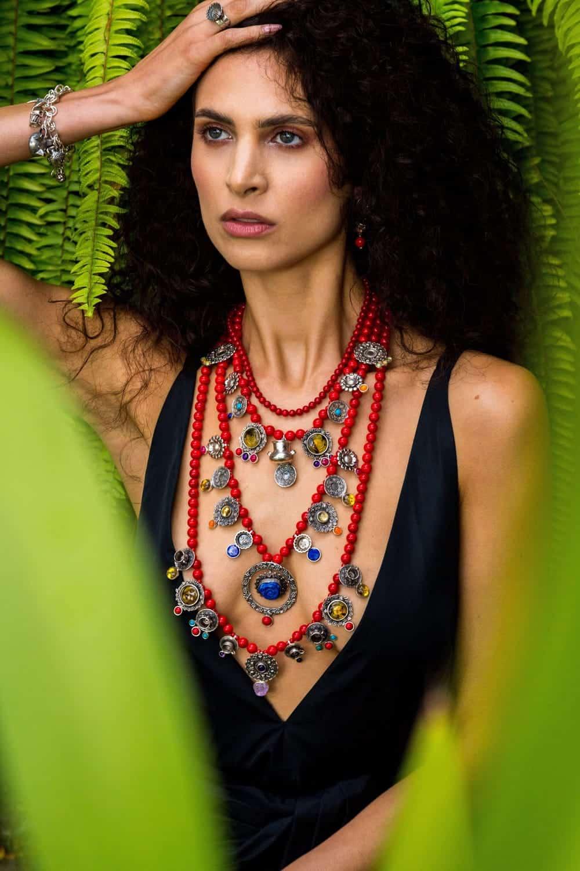 joyas mexicanas gabriela sanchez collar coral platos collar gabriela sanchez 28455794606135
