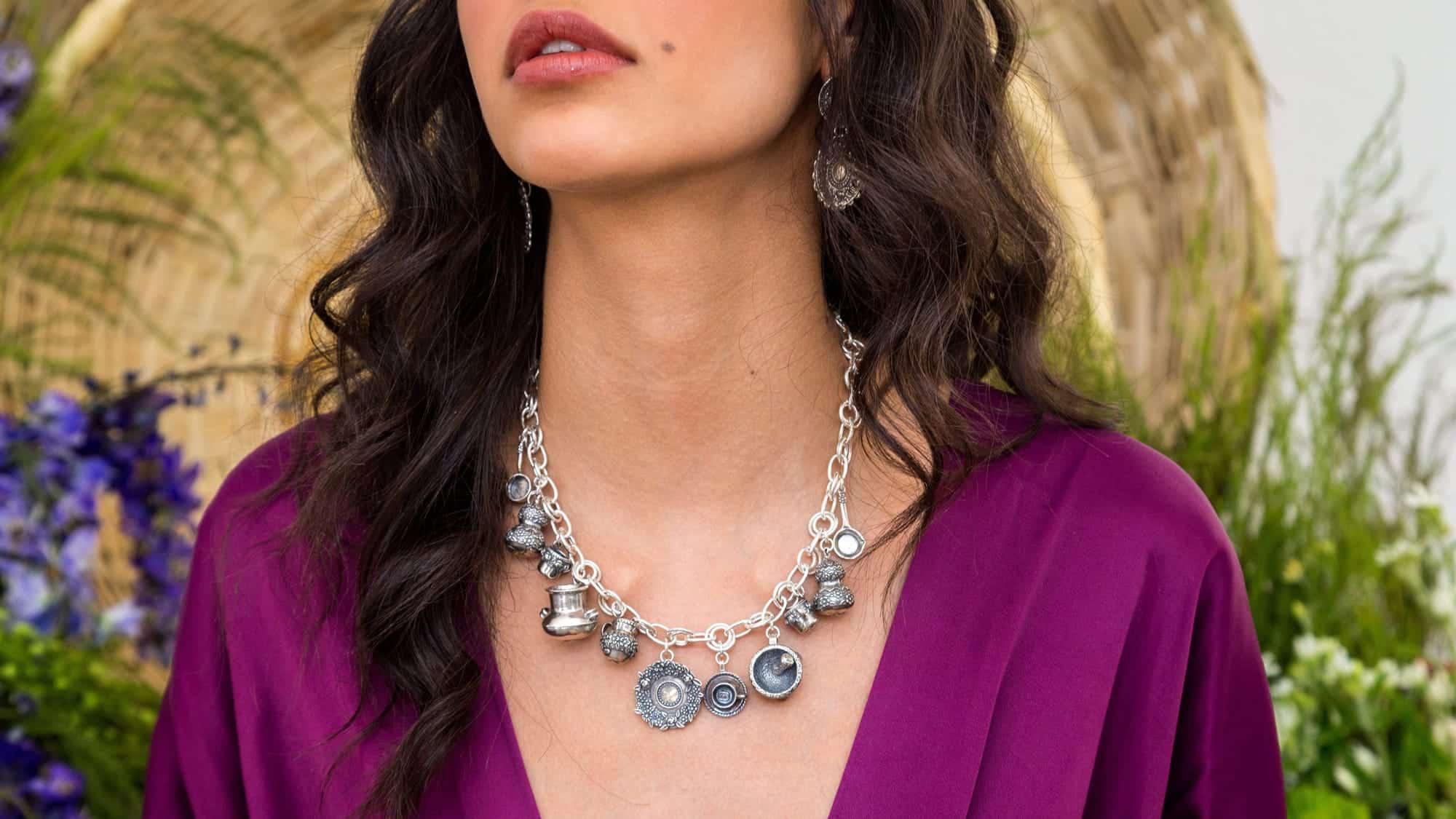 joyas mexicanas gabriela sanchez collar mis tesoros collar gabriela sanchez 28456680652855